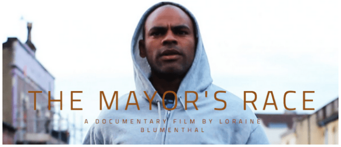 THE MAYORS RACE FILM - CARD
